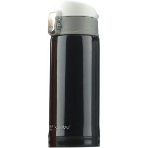 """ASOBU Двустенен термос с вакуумна изолация """"MINI DIVA"""" - 200 мл - цвят черен"""