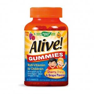 Алайв Мултивитамини за деца x 90 желирани таблетки
