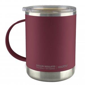 "ASOBU Термо чаша с керамично покритие ""ULTIMATE"" - 360 мл - цвят бургунди"
