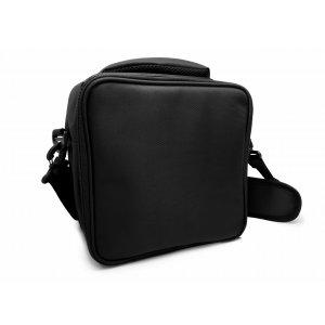 Nerthus Термоизолираща чанта за храна с 2 джоба - черен цвят
