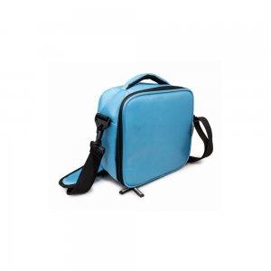 Nerthus Термоизолираща чанта с два джоба - цвят син