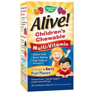 Мултивитамини за деца - Alive 30