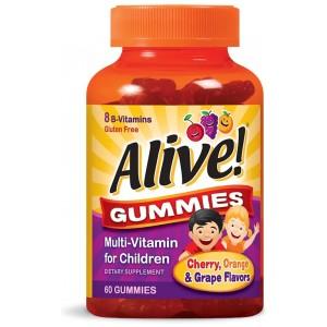 Алайв! Мултивитамини за деца x 60 желирани таблетки