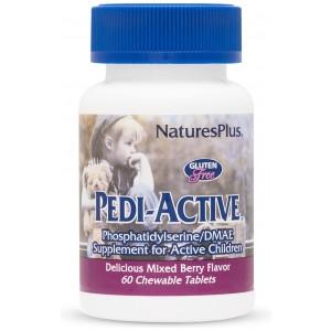 PEDI-ACTIVE за Активни Деца - Natures Plus  (Горски плодове