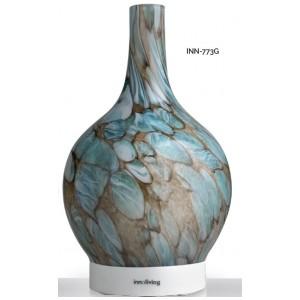 INNOLIVING Луксозен ултразвуков арома дифузер INN - 773G - цвят зелен мрамор