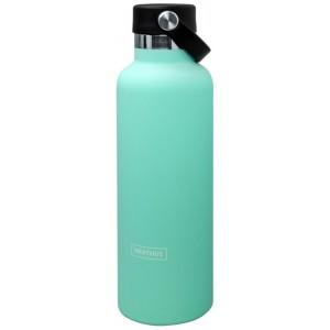 """Nerthus Двустенна спортна бутилка с дръжка - цвят """"ТЮРКОАЗ"""" - 750 мл."""
