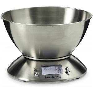 INNOLIVING Електронна кухненска везна  с купа - метална