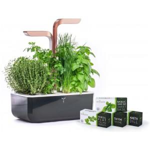 Домашна градина SMART VÉRITABLE® GARDEN - цвят черен/мед