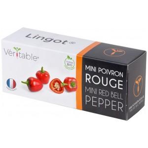 VERITABLE Lingot® Red mini bell pepper Organic - Червени Мини Камби