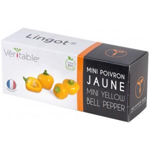 VERITABLE Lingot® Yellow mini bell pepper Organic - Жълти Мини Камби