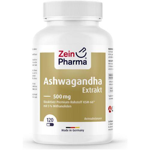 АШВАГАНДА / ASHWAGANDHA – ZeinPharma (120 капс)