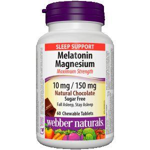 Мелатонин + Магнезий с вкус на шоколад