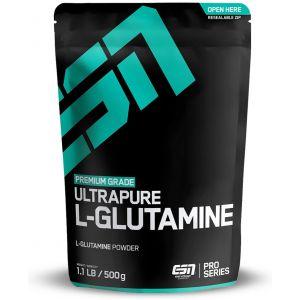 L-ГЛУТАМИН Прах / ULTRAPURE GLUTAMINE Powder - ESN (500 гр)