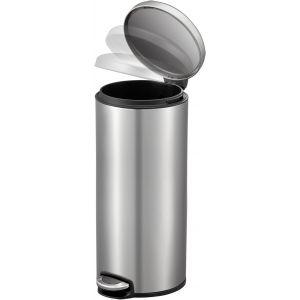 """EKO Кош за отпадъци с педал """"MAGGEY"""" - 30 литра - мат"""