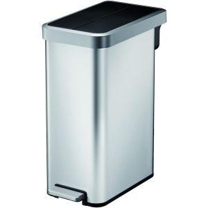 """EKO Кош за отпадъци с педал """"ECOFLY II"""" - 45 литра - мат"""