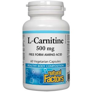 L-Carnitine/ Л-Карнитин 500 mg х 60 капсули