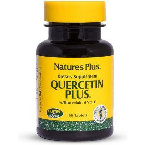 КВЕРЦЕТИН / QUERCETIN Plus – NaturesPlus (60 табл)