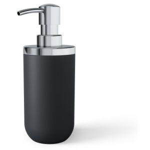 """UMBRA Диспенсър за сапун """"JUNIP"""" - цвят черен / хром"""