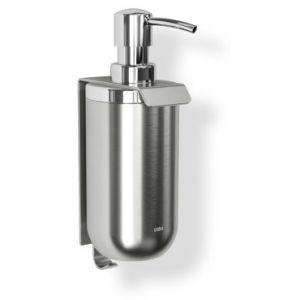 """UMBRA Диспенсър за сапун за стенен монтаж със закачалка """"JUNIP"""" - неръждаема стомана"""