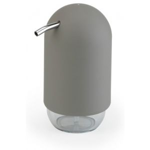 "UMBRA Диспенсър за сапун ""TOUCH"" - цвят сив"